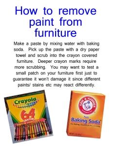 crayon furniture