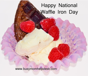 national waffle iron day reduced